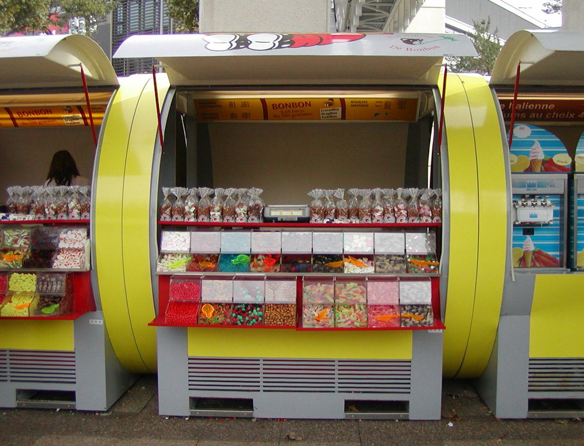 Kiosques rond