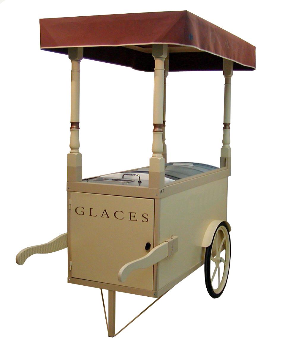 Chariot glacier belle époque