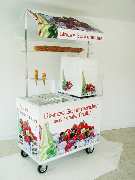 Chariot glaces gourmandes